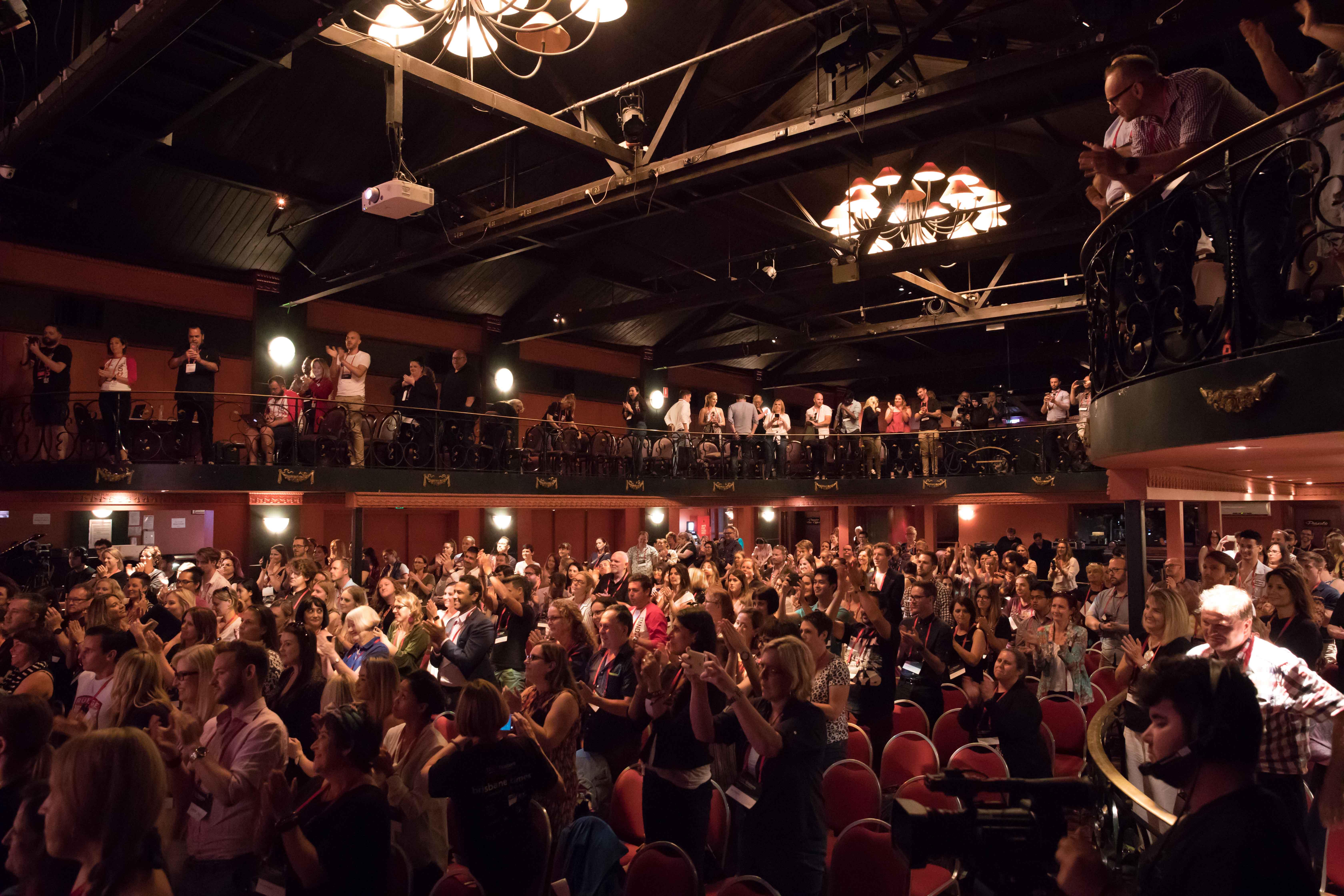 TEDxBrisbane Audience Applauding TED Talk In Brisbane