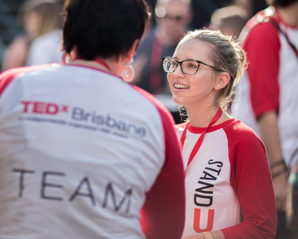Emily Warner TEDxBrisbane Advocate