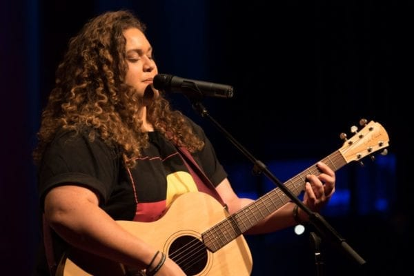 Waveney Yasso Performing at TEDx Brisbane