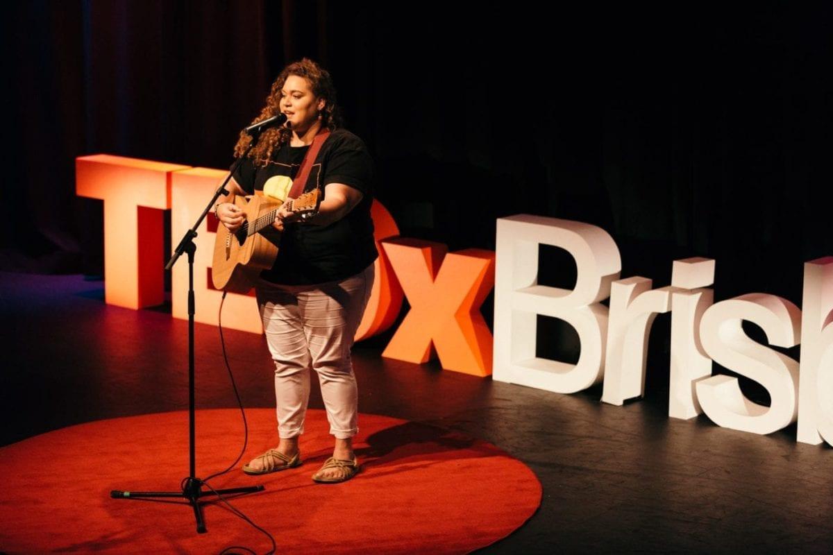 Waveney Yasso Performing at TEDx Brisbane