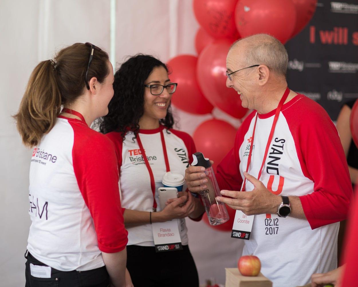 TEDx Brisbane Advocates - Flavia Ian Coombe