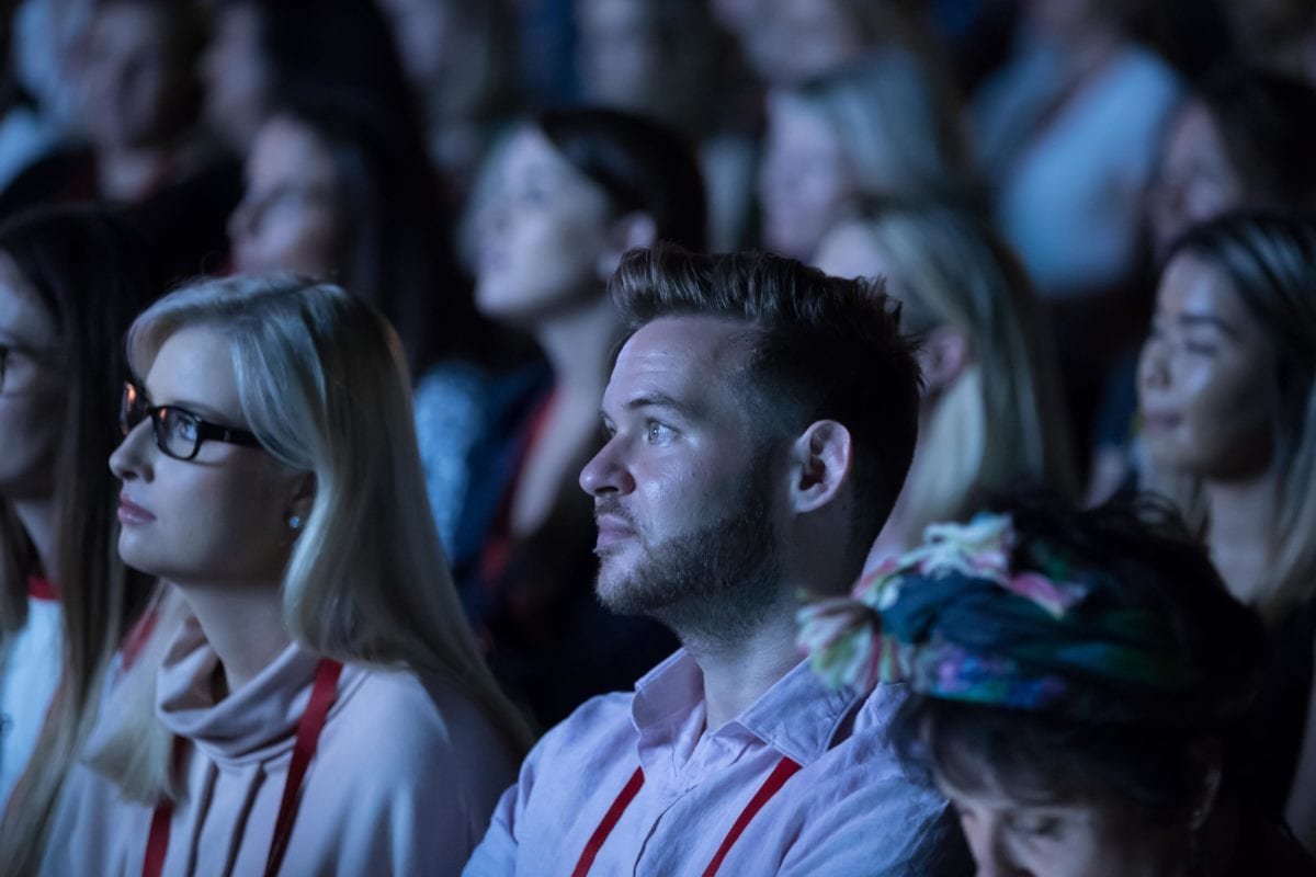 TEDx Brisbane Audience Member
