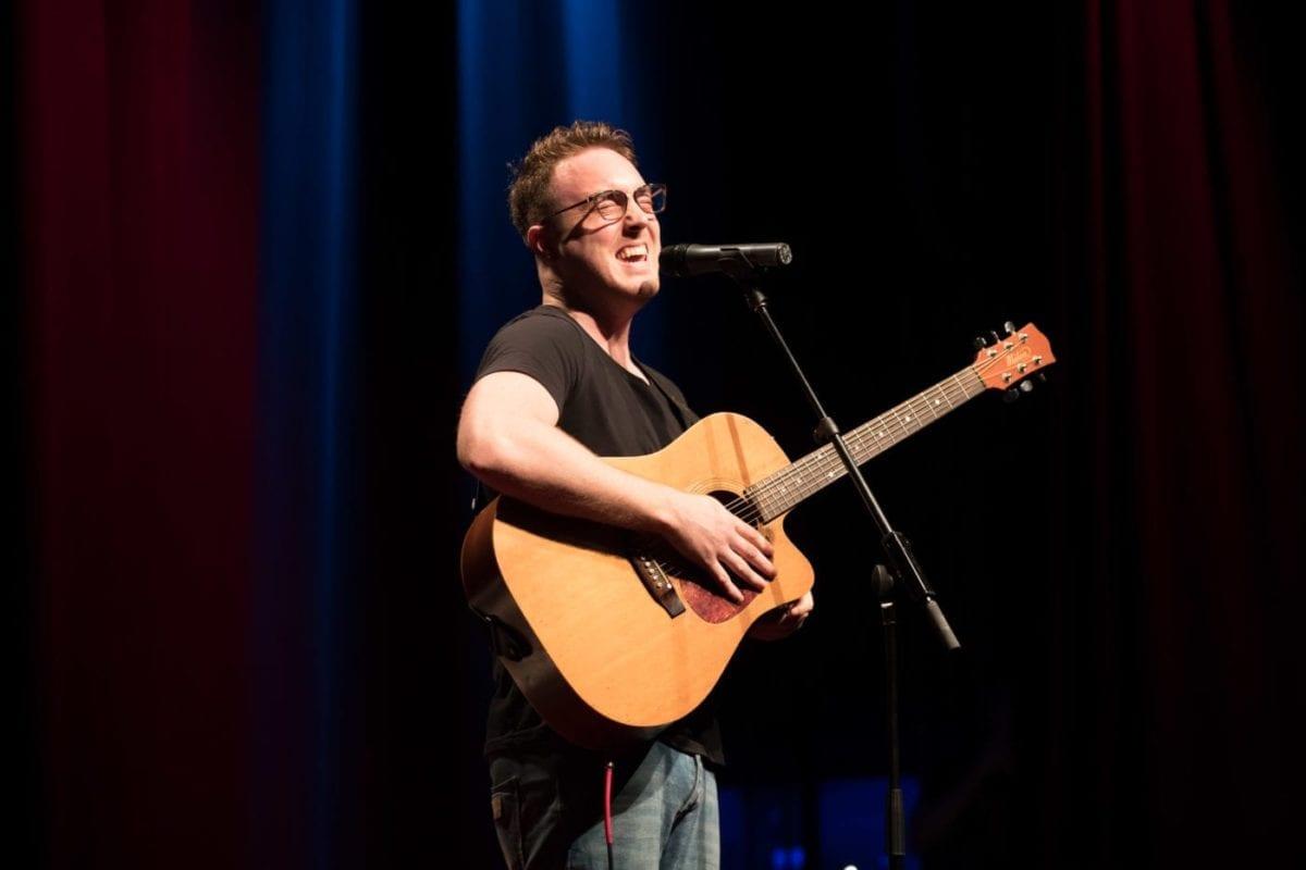 Chris Sheehy Performing At TEDx