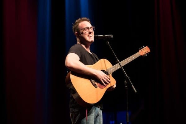 Chris Sheehy Performing At TEDx
