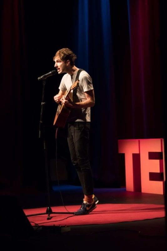Jeremy Neale Performs Dancin & Romancin At TEDx Brisbane
