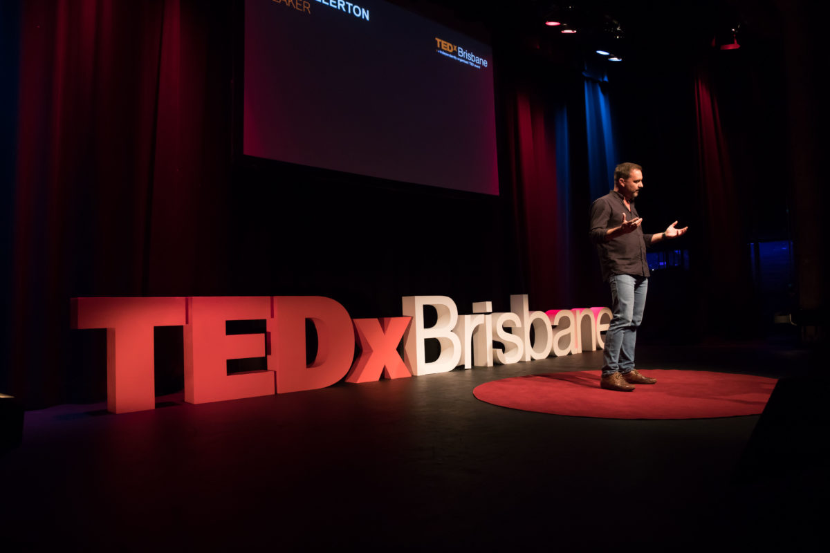 Peter Ellerton Present His TEDx Idea Worth Spreading