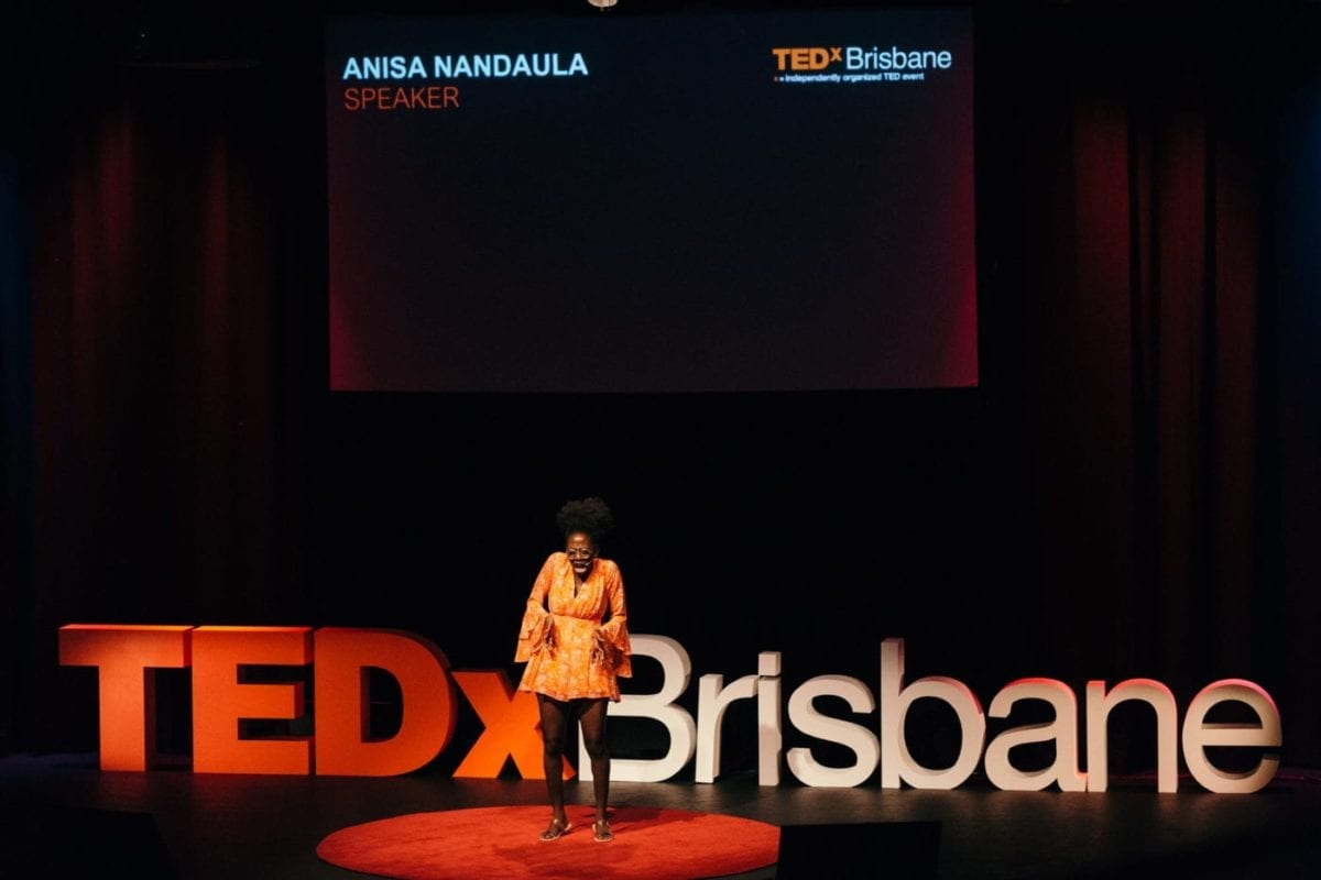 Anisa Nandaula Performing At TEDx Brisbane2017