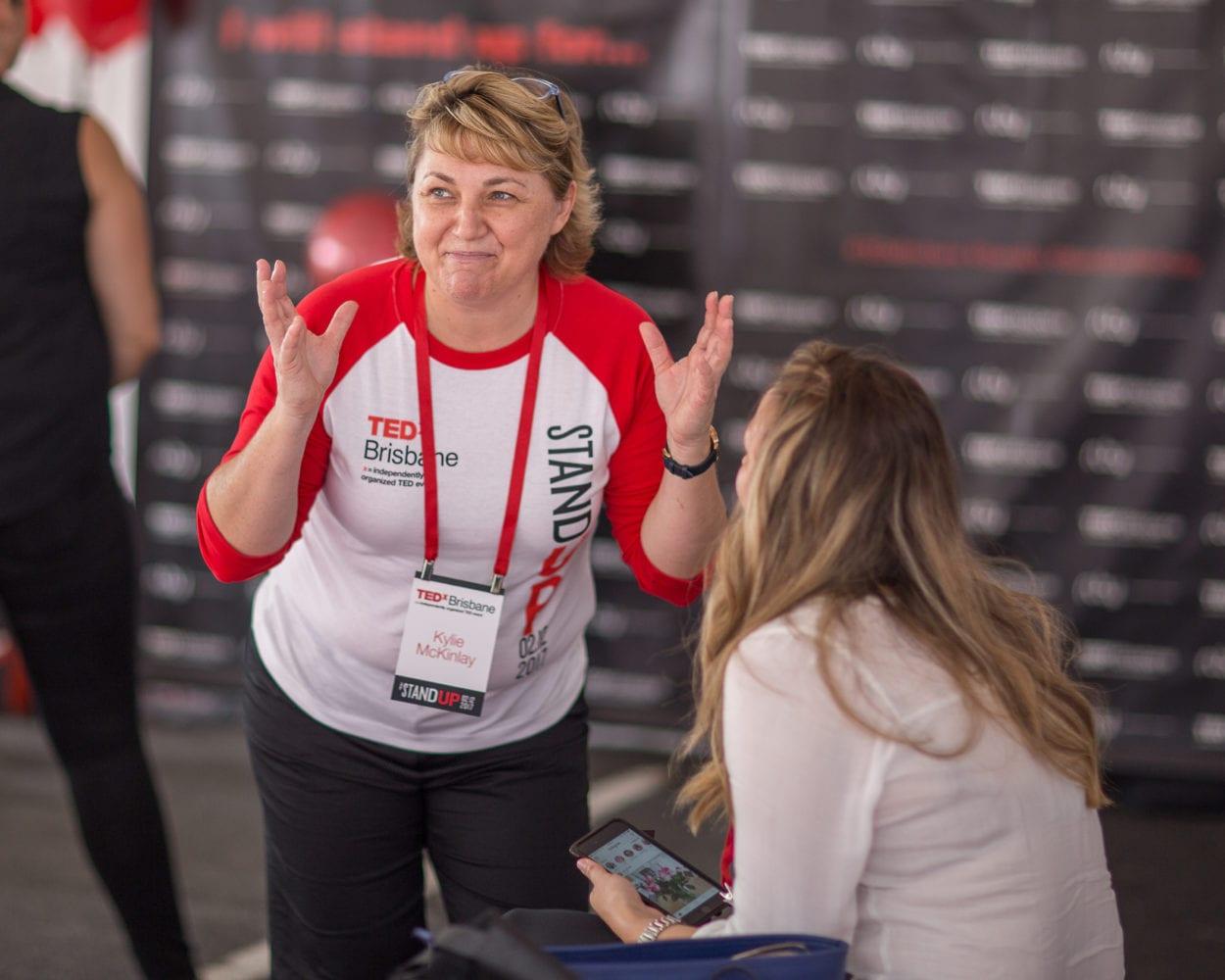 Kylie McKinlay TEDxBrisbane Advocate