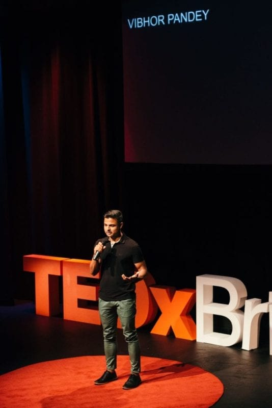 Vibhor Pandey 1 Minute TEDx Pitch