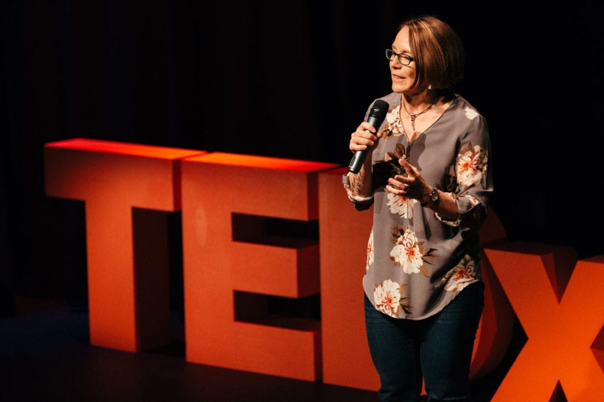 Nicole Lloyd 1 Minute TEDx Pitch